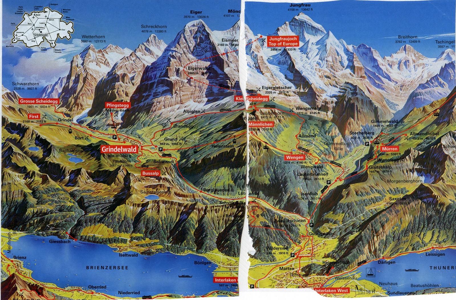 Switzerland Hiking Trip